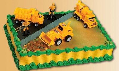 Amerikaanse taart Wegenbouw