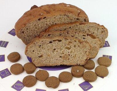 1 Stempelkaart- Pepernotenbrood
