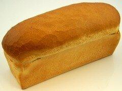 Witbrood rond gesneden
