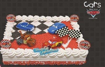 amerikaanse taart Amerikaanse taart Cars   Bakkerij Heslinga's smulpaleis amerikaanse taart